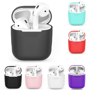 TPU Silicone Bluetooth Wireless Earphone Protective Cover Skin for Apple AirPods Charging Box