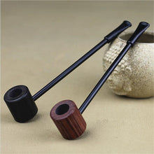 Ebony Wood Smoking Pipe
