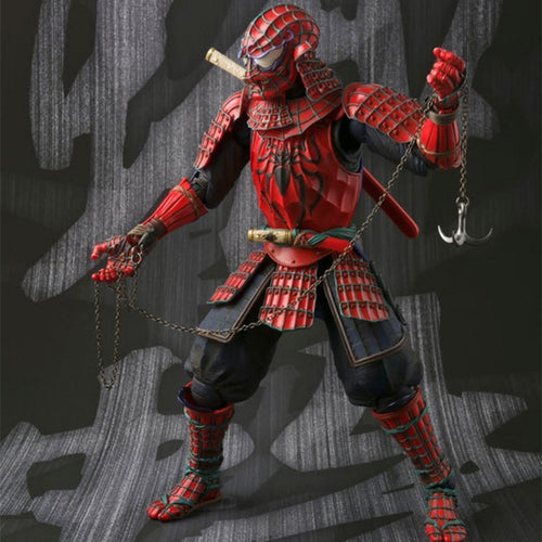 Manga Realization Samurai Spider-Man Action Figure