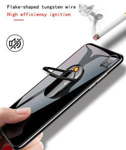 **HOT NEW** Tungsten USB Cigarette Lighter / Mobile Phone Bracket Stand