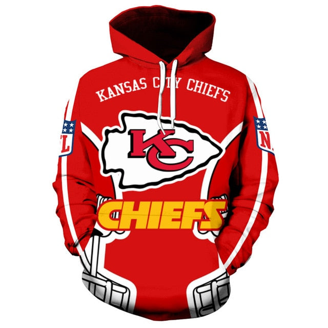 super popular 839bd 77378 Kansas City Chiefs Hoodies