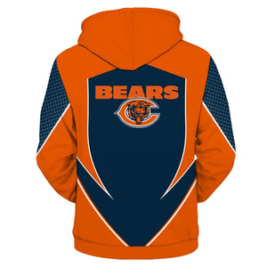 Chicago Bears Zip Up Hoodies