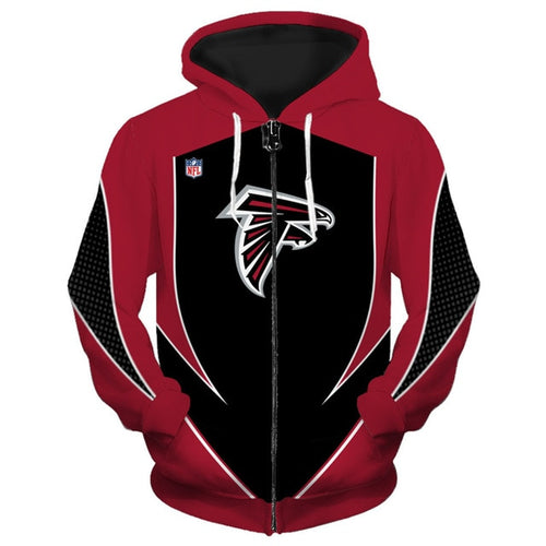 Atlanta Falcons Zip Up Hoodies