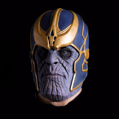 Thanos Latex Full Overhead Cosplay Mask