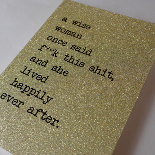 A Wise Woman Notepad