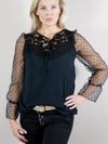 Isla Blouse Black