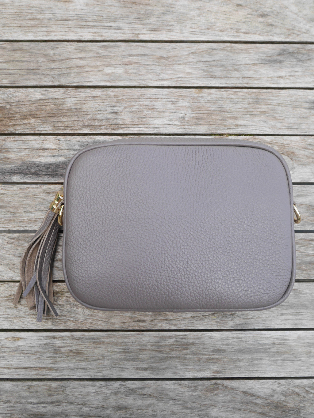 Mink Cross Body Leather Bag