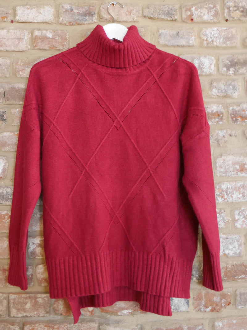 Amber Knit Red