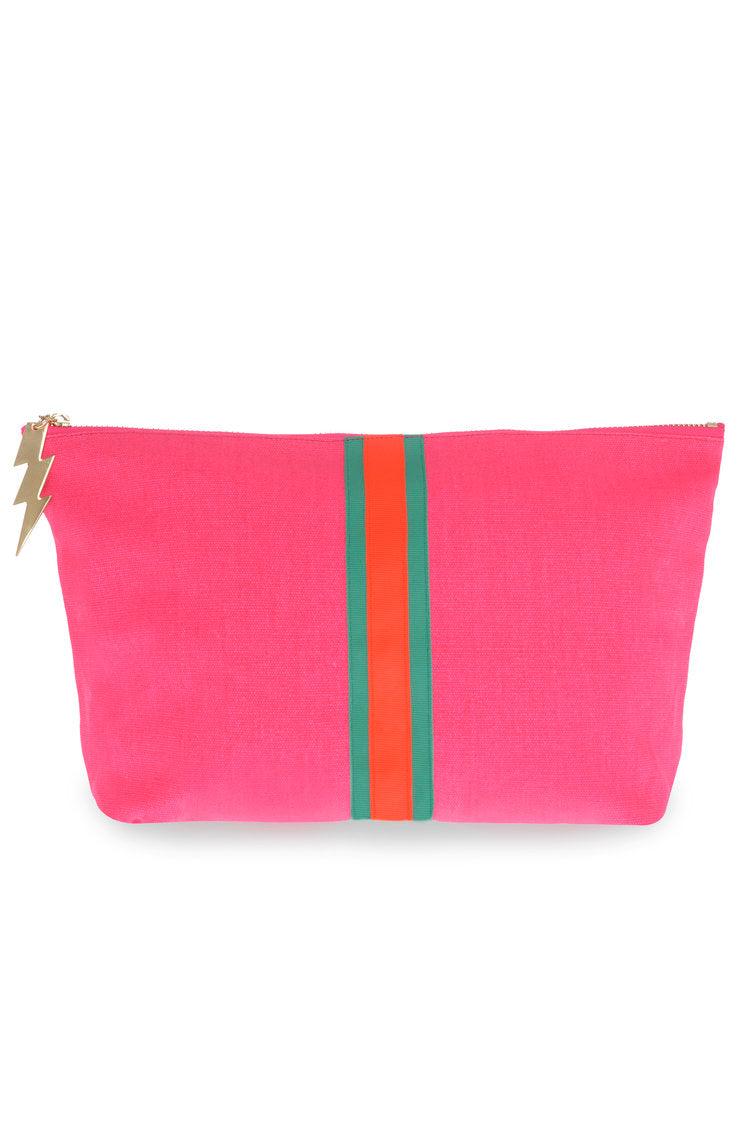 Lucky Stripe Wash Bag