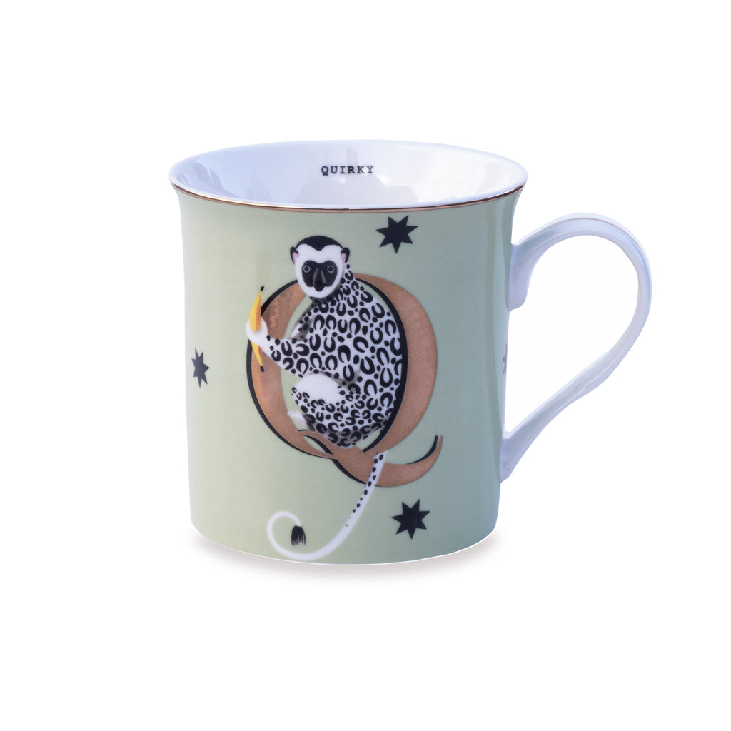 Q for Quirky Mug