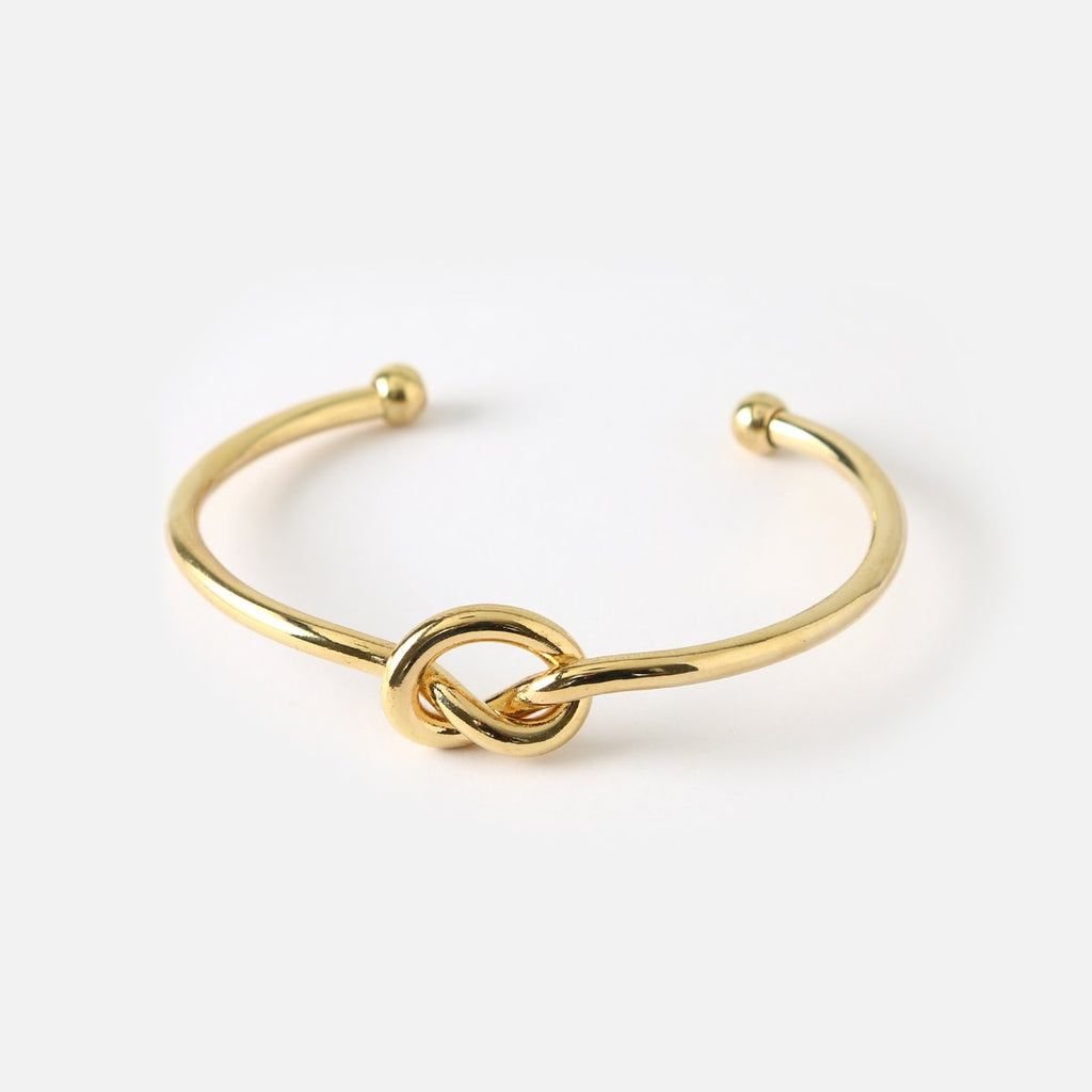 Orelia Chunky Knot Bangle
