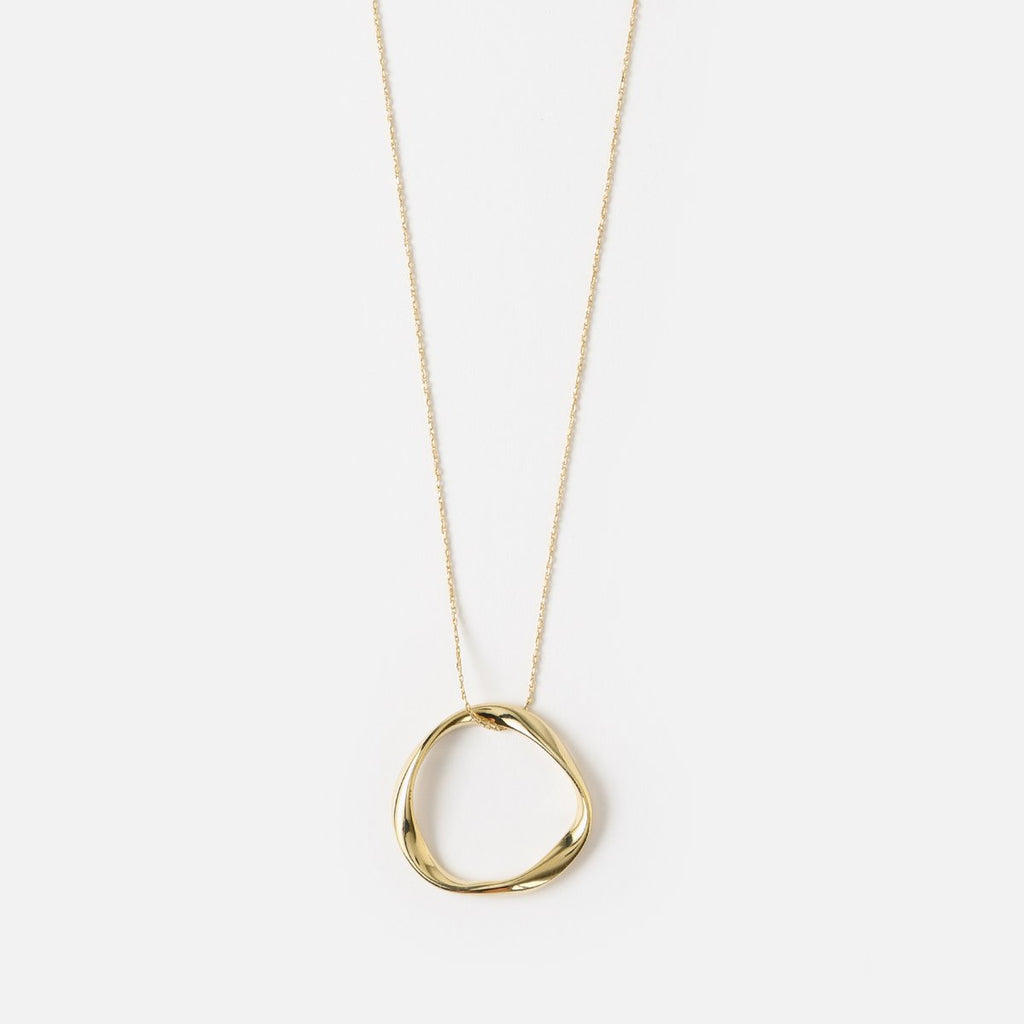Orelia Open Circle Necklace