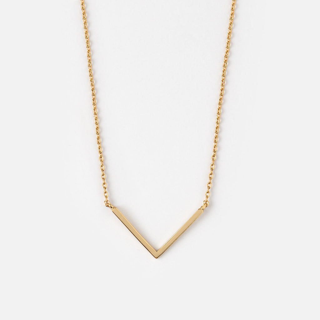 Orelia Simple V Necklace