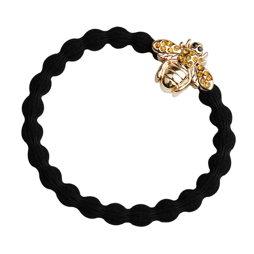 Bling Bee Black Charm Hair Band
