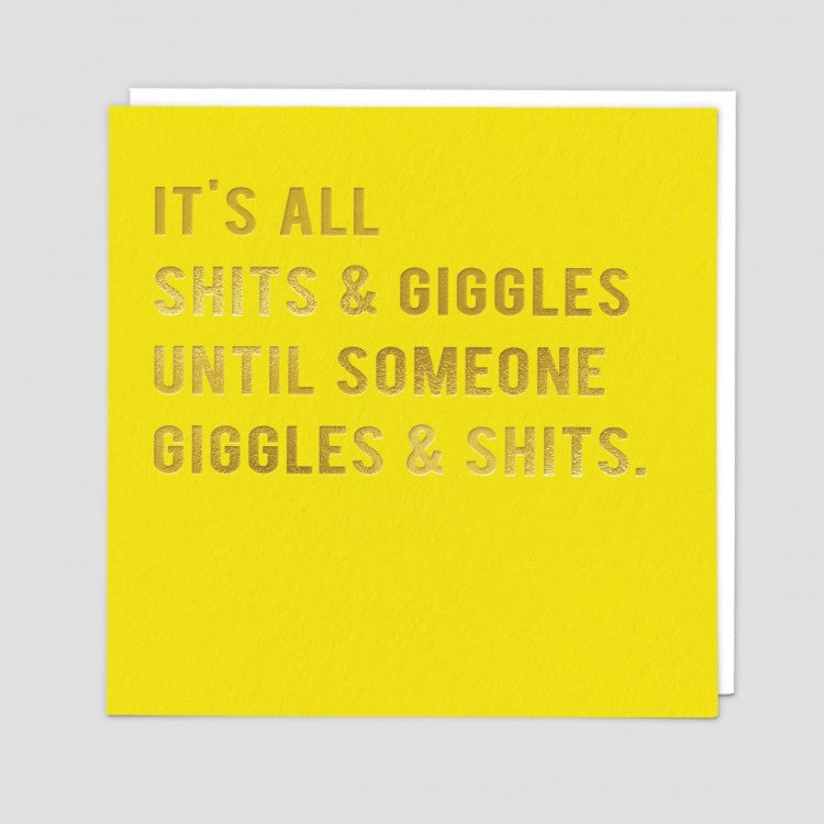Giggles Card