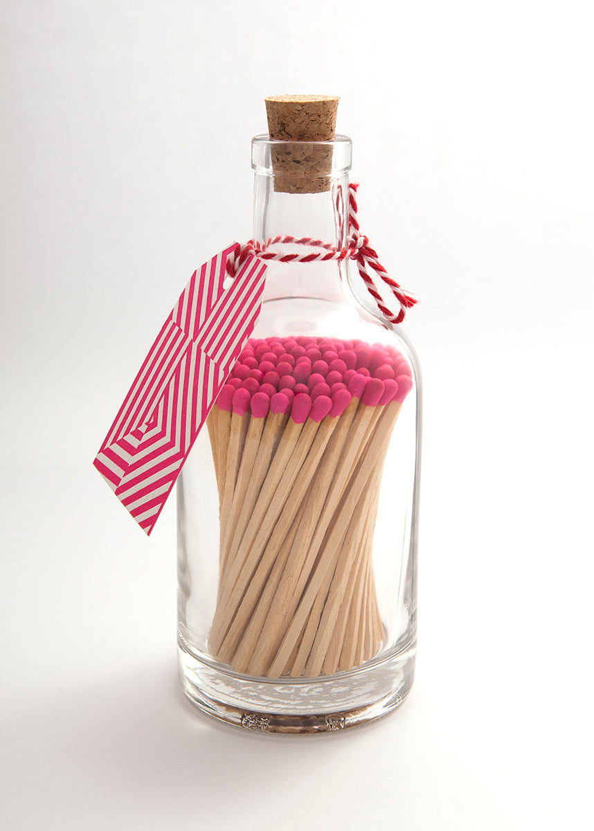 Glass Bottle of Matches