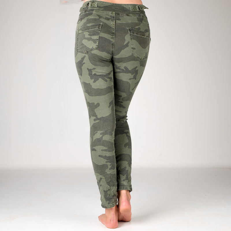 Melly & Co Camouflage Drawstring Jeans/Joggers