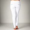 Melly & Co White 4 Button Hole Detail Jeans