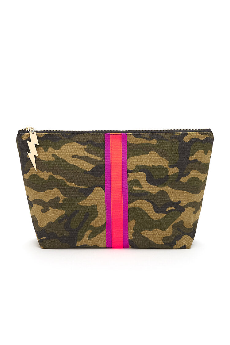 Camo Girl Wash Bag