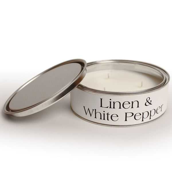 Linen Triple Wick Candle