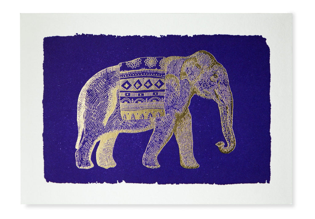 Elephant Blue Notelets