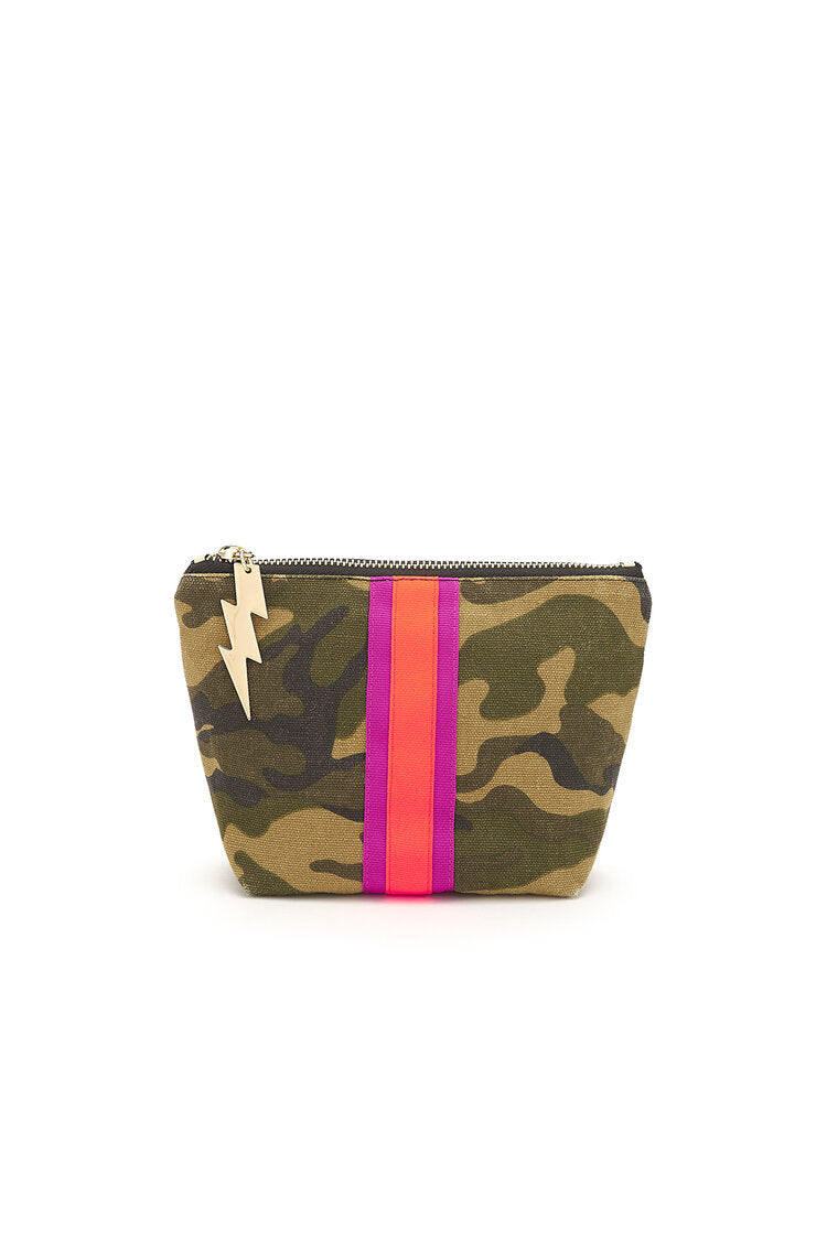 Camo Girl Make Up Bag
