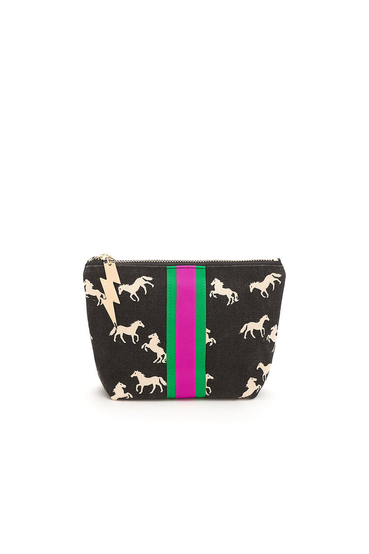 Wild Horses Make Up Bag