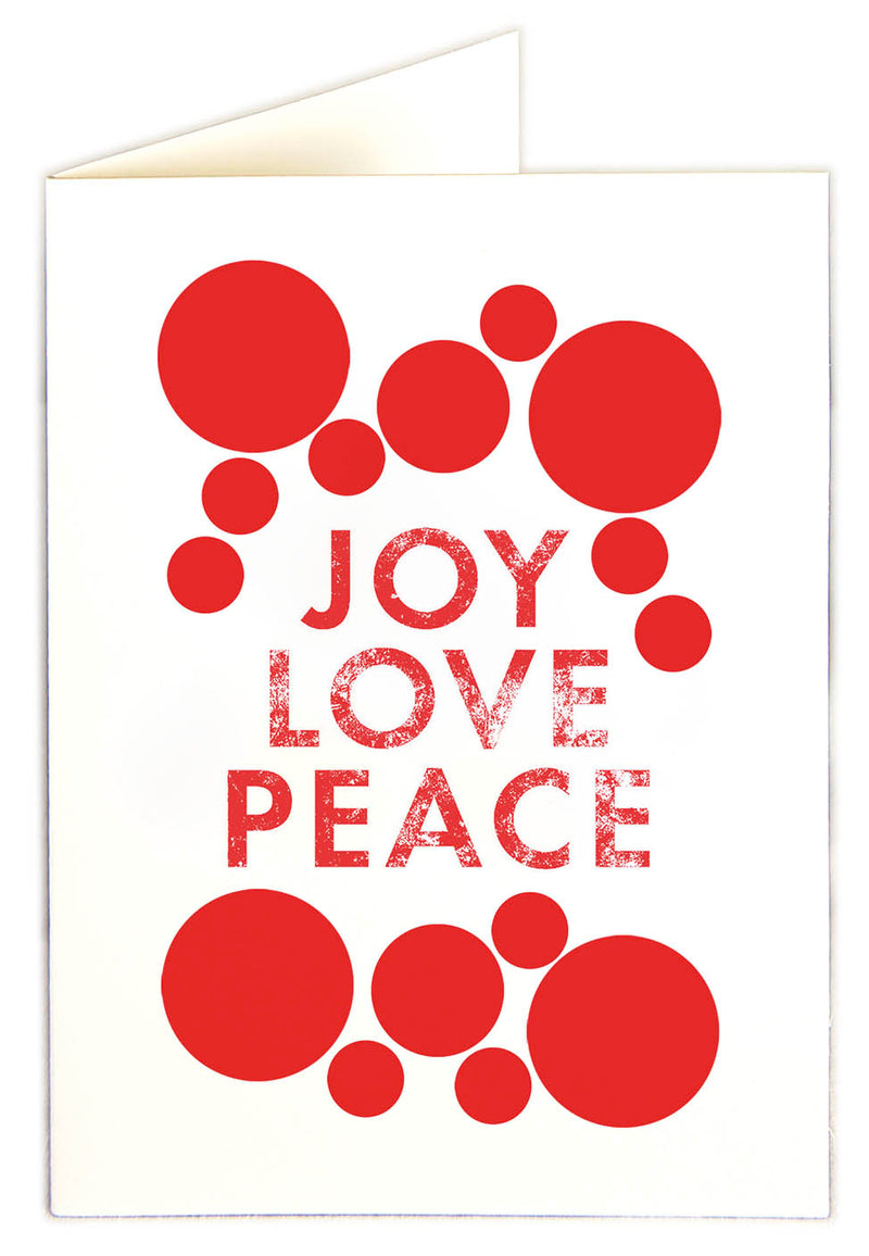 Joy Love Peace Notelets