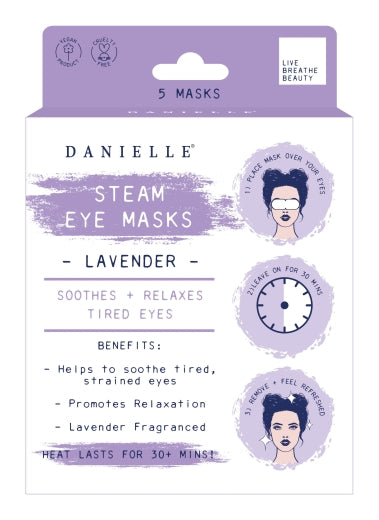 Lavender Steam Eye Mask