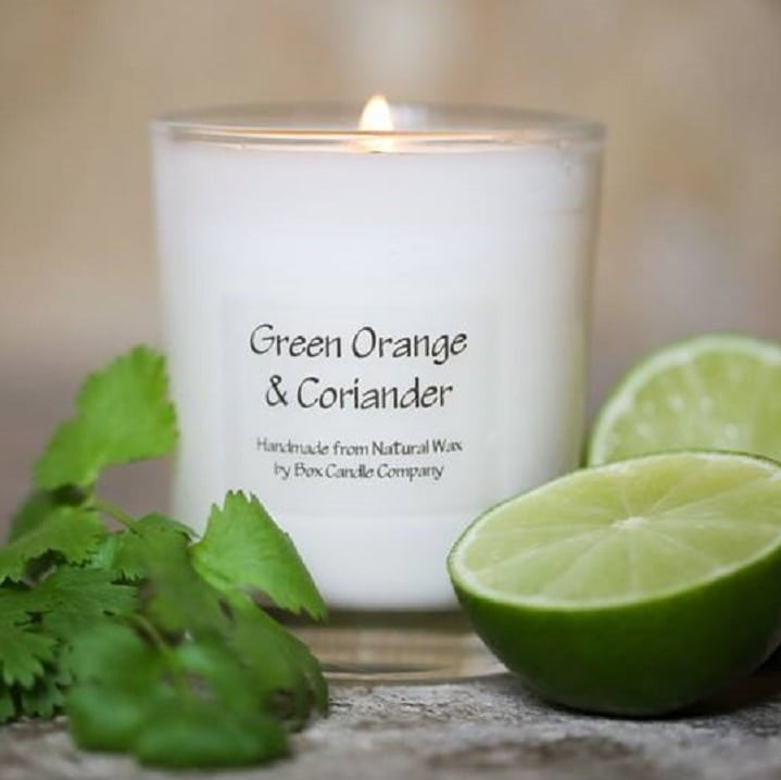 Green Orange & Coriander Tumbler Candle