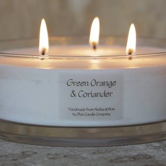 Green Orange & Coriander 3 Wick Candle