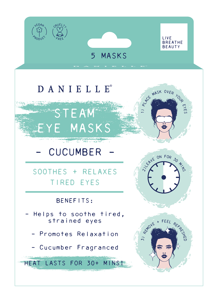 Cucumber Steam Eye Mask