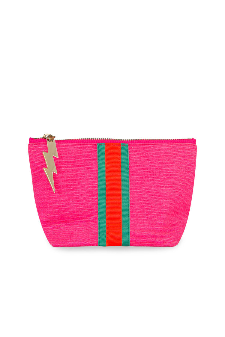 Lucky Stripe Make Up Bag