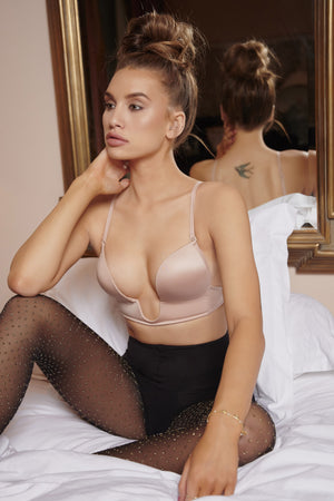 Nude Truly, Madly, Deeply V Plunge Bra