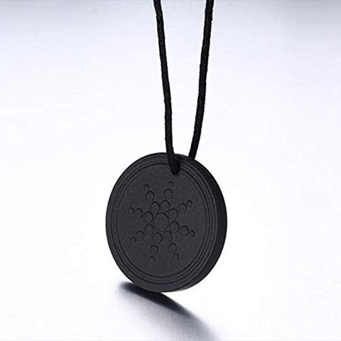 100% Original Quantum Science Black Pendant Chain Necklace