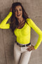 Body Diva D436 Amarillo