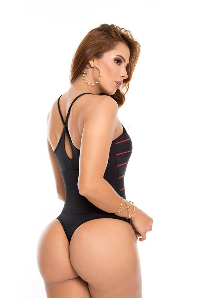 Body Reductor Pitbull BD3247 Negro