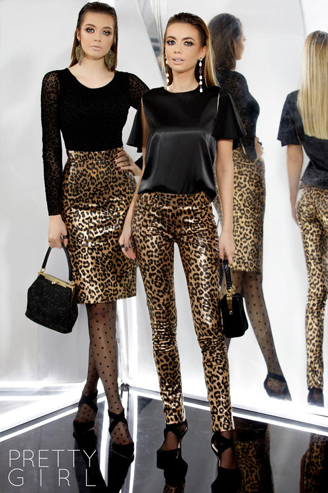 Pantalones Pretty Girl 4730 Leopardo