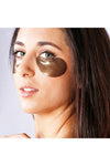 Black Pearl & Gold Hydrogel Eye Patch (60EA) Petitfee mask