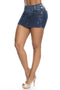 Short Colombiano Pitbull Jeans SP6566 Azul