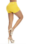 Short Push Up Pitbull SP6597 Amarillo