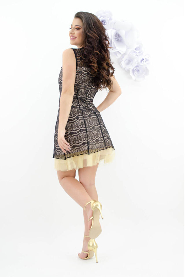 Vestido Pretty Girl R3331