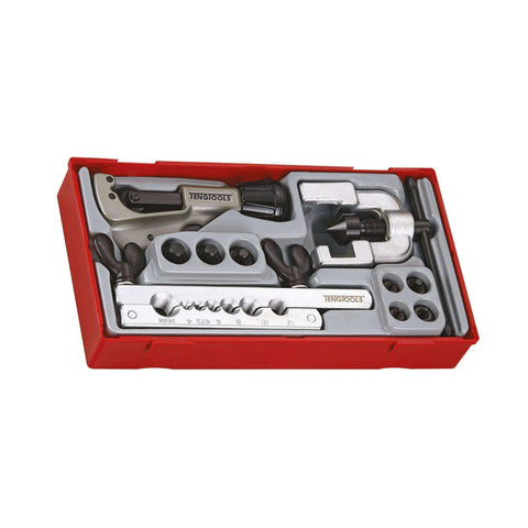 Teng Tools TTTF10 - 10 Piece Tube Flaring Tool Set - Teng Tools USA