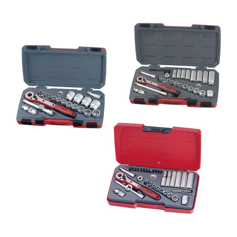 Teng Tools 90 Piece Mixed Drive AF Socket Set - Teng Tools USA