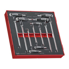 Teng Tools TEDTX7 - 7 Piece T Handle TX Key Set in EVA Tray - Teng Tools USA