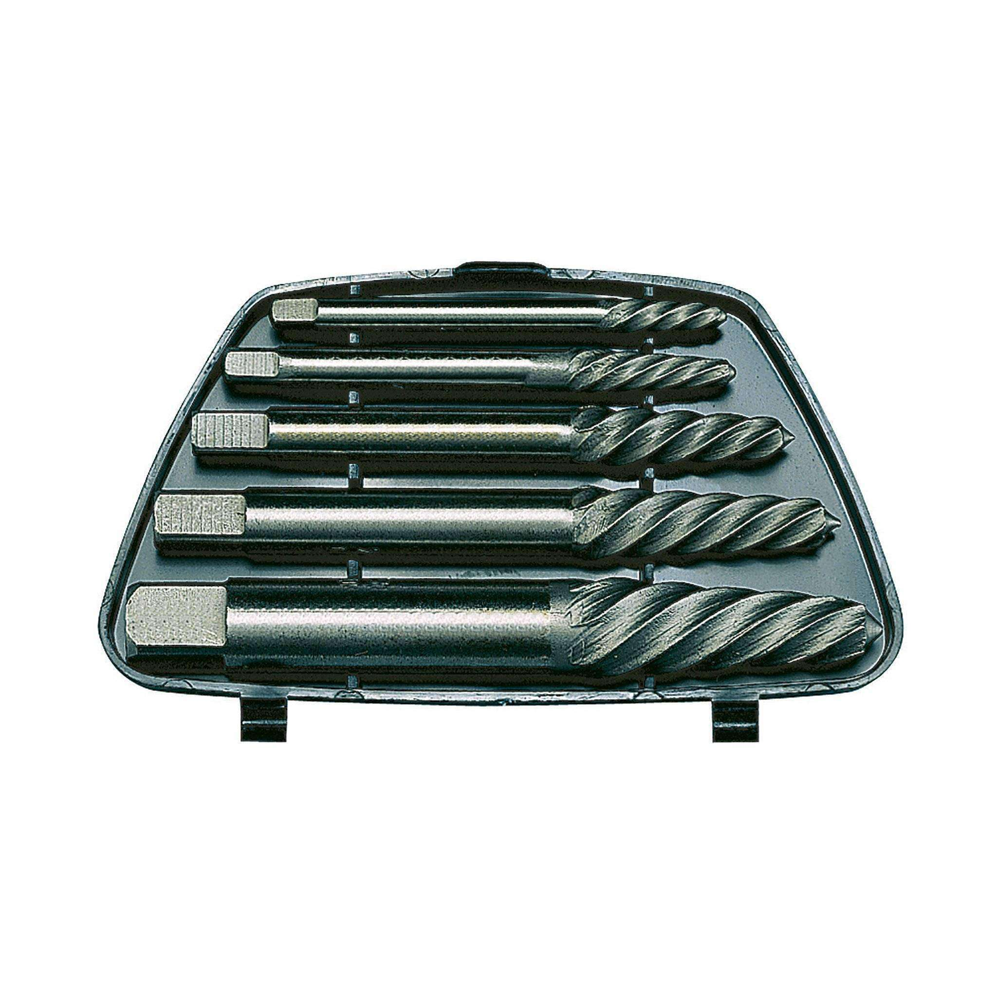 Teng Tools SE05 5 Piece Screw Extractor Set