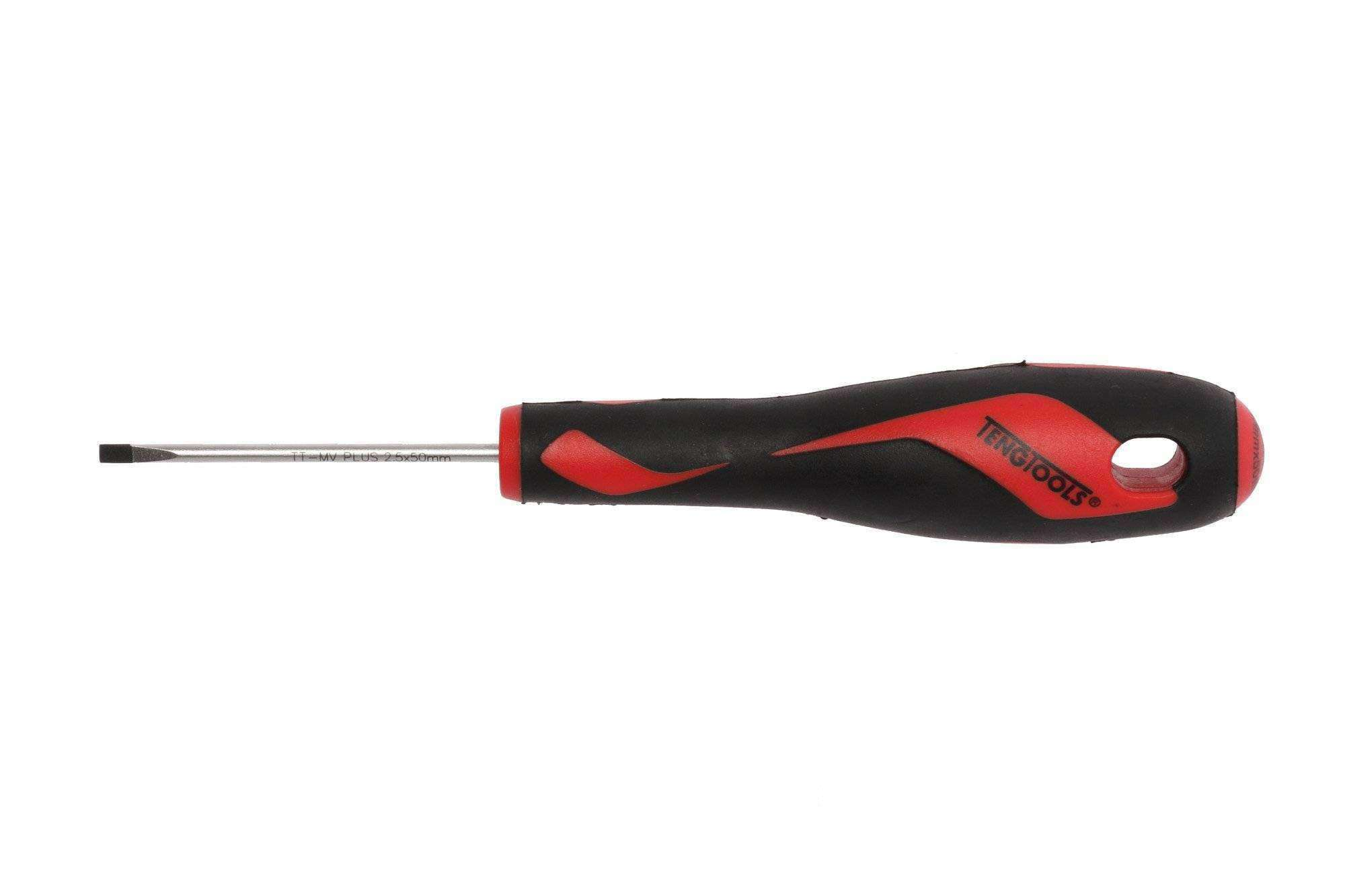 Teng Tools - 2.5 x 50mm Flat Type Screwdriver - MD914N - Teng Tools USA