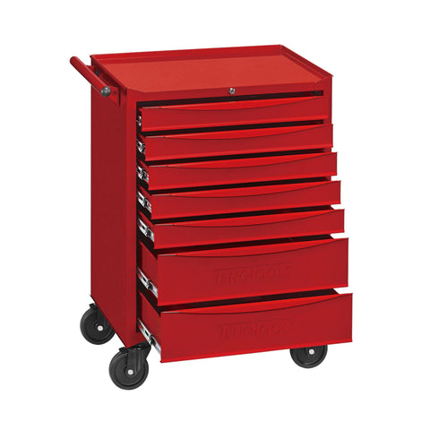 Teng Tools 7 Drawer Heavy Duty Roller Cabinet Tool Chest / Wagon - TCW707EV - OPEN BOX