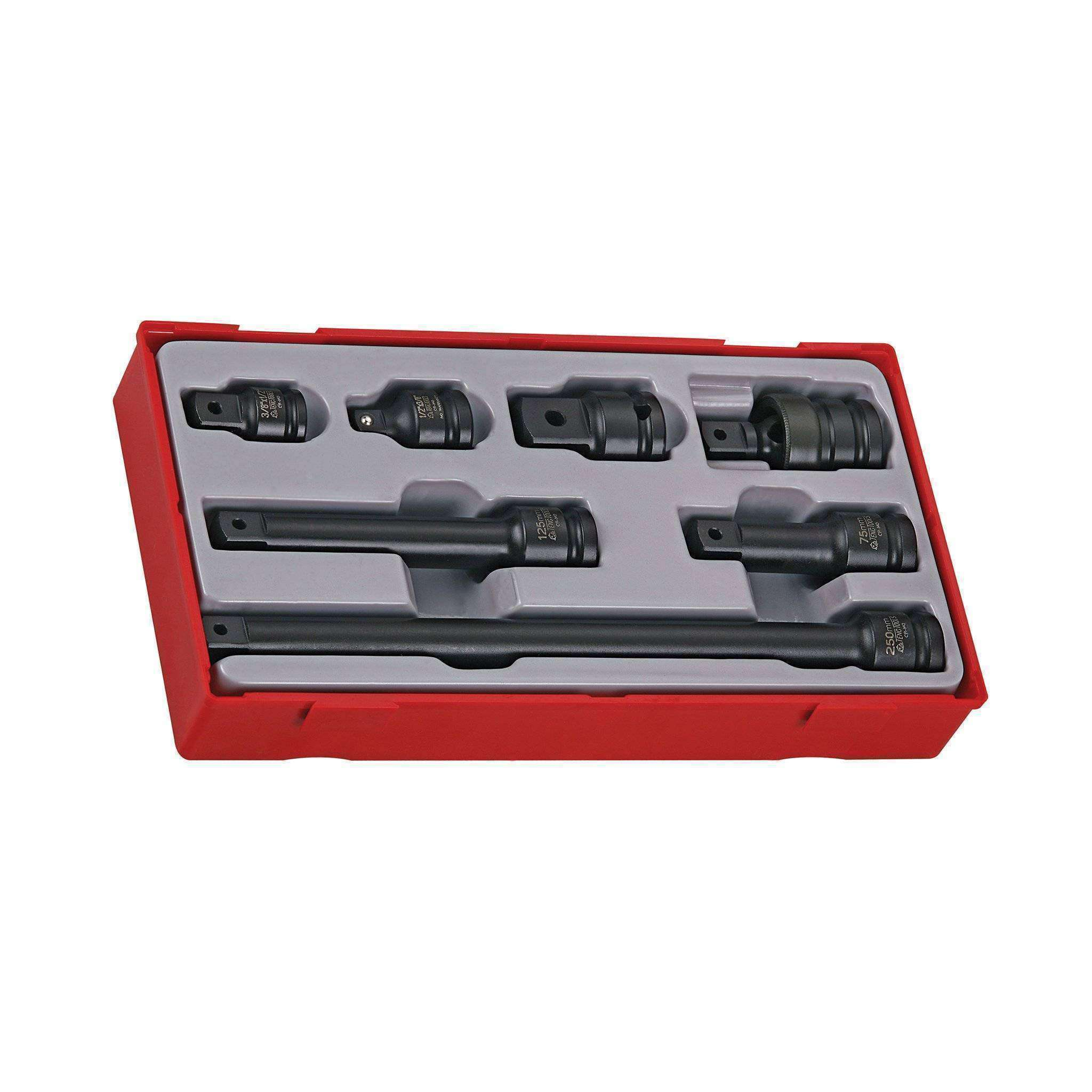 Teng Tools TT9207 - 7 Piece 1/2 inch Drive Impact Socket Set - Teng Tools USA