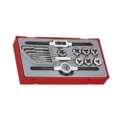 Teng Tools TTTD17 - 17 Piece Tap and Die Set - Teng Tools USA